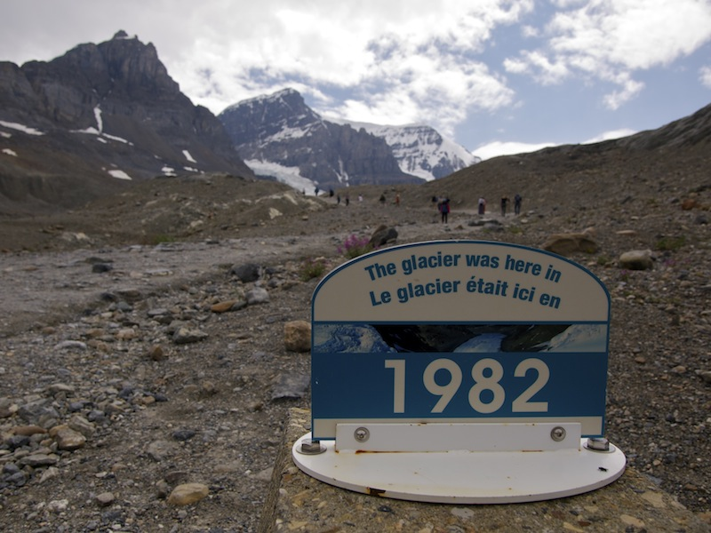 Glaciers – you might want to see one soon