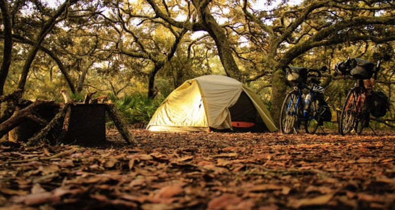 Eco friendly camping