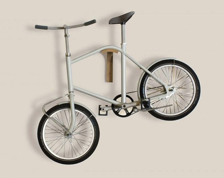 The bike you can hang on the wall