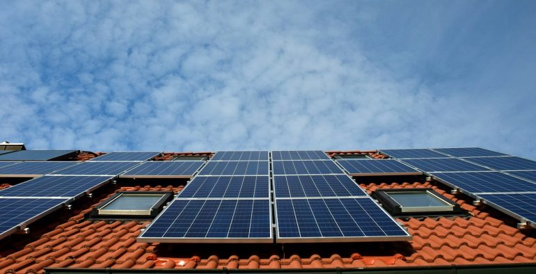 Go sustainable at home with solar panels